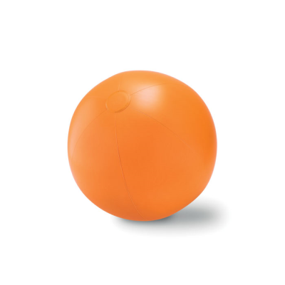 Picture of LARGE INFLATABLE BEACH BALL in Orange