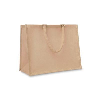Picture of JUTE SHOPPER TOTE BAG