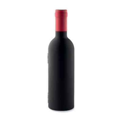 Picture of BOTTLE SHAPE WINE SET