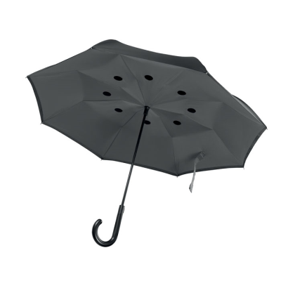 Picture of REVERSIBLE UMBRELLA in Greey
