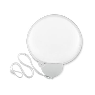 Picture of FOLDING FAN in White