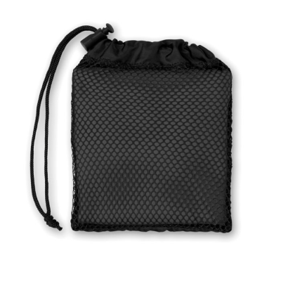 Picture of SPORTS TOWEL with Pouch in Black