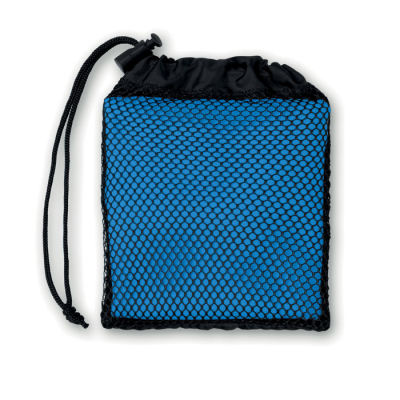 Picture of SPORTS TOWEL with Pouch in Royal Blue