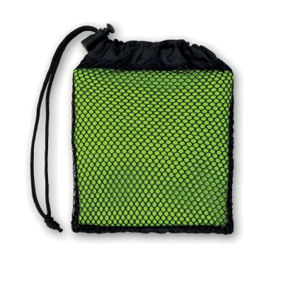 Picture of SPORTS TOWEL with Pouch in Lime