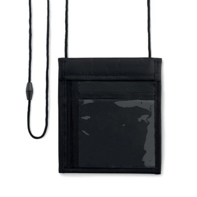 Picture of 70D NYLON WALLET in Black