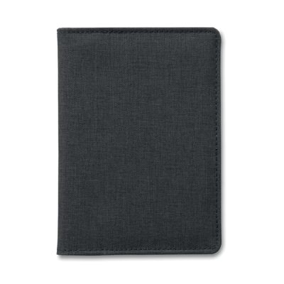 Picture of RFID BLOCKING WALLET-PASSPORT HOLDER in 2-tone Polyester