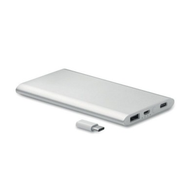 Picture of POWER BANK 4000 MAH with Type C Port in Aluminium Metal