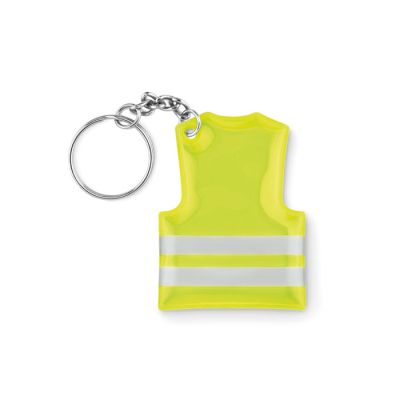 Picture of REFLECTIVE PVC VEST KEYRING CHAIN
