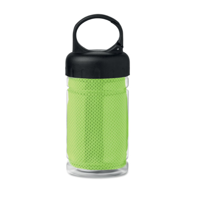 Picture of PET BOTTLE INCLUDING POLYESTER FIBRE SPORTS TOWEL