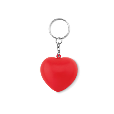 Picture of PU HEART SHAPE KEYRING