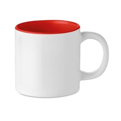 Picture of CERAMIC POTTERY MUG OF 200 ML with Special Coating for Sublimation