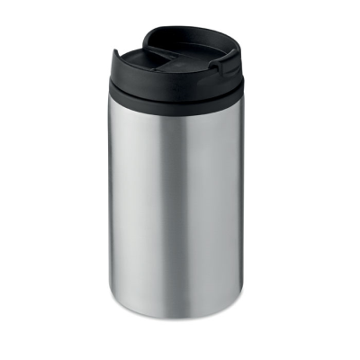 Picture of DOUBLE WALL STAINLESS STEEL METAL LEAK FREE MUG