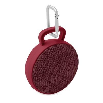 Picture of BLUETOOTH ROUND SPEAKER with Fabric Cover on the Front & Rubber Finish