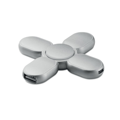 Picture of 3 USB HUB SPINNER in Abs