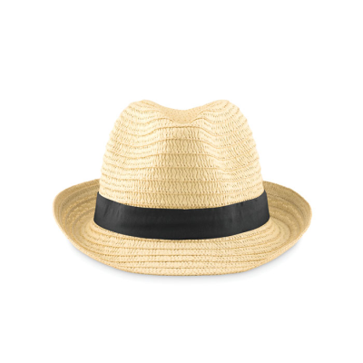 Picture of PAPER STRAW HAT with Colour Polyester Band