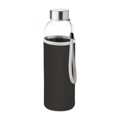 Picture of GLASS BOTTLE in Black
