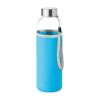 Picture of GLASS BOTTLE in Turquoise