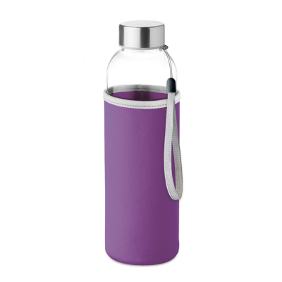 Picture of GLASS BOTTLE in Violet