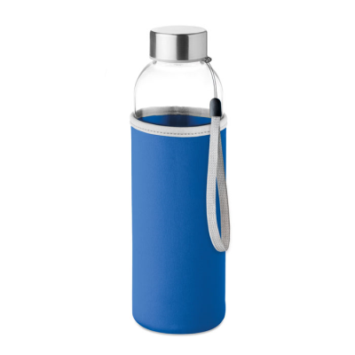 Picture of GLASS BOTTLE in Royal Blue