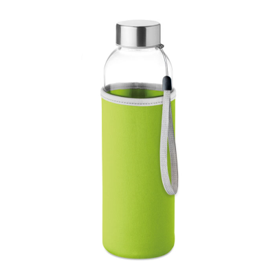 Picture of GLASS BOTTLE in Lime