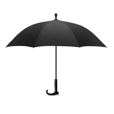 Picture of 23 INCH AUTO OPEN UMBRELLA in 190t Pongee with Fibre Glass Shaft & Ribs with Black Tips
