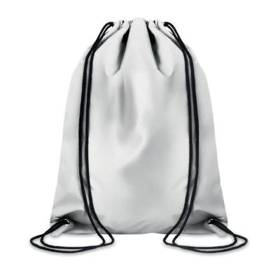 Picture of REFLECTIVE POLYESTER DRAWSTRING BAG