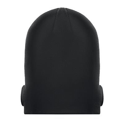 Picture of BLUETOOTH BEANIE with Earphones on Front in Acrylic