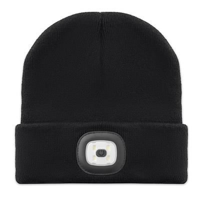 Picture of BEANIE in Acrylic with Detachable Cob Light on Front