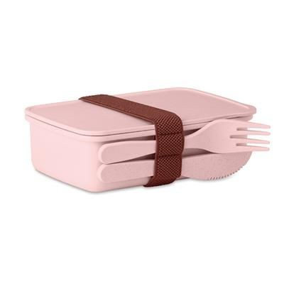 Picture of LUNCH BOX BAMBOO FIBRE AND PP