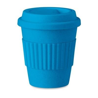 Picture of TUMBLER in Bamboo Fibre & PP in Royal Blue