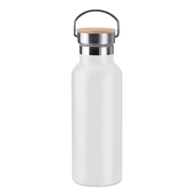 Picture of DOUBLE WALL FLASK 500 ML in White
