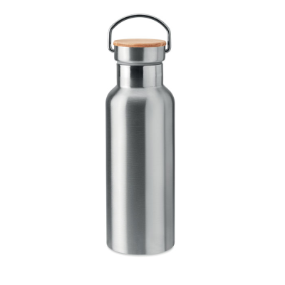 Picture of DOUBLE WALL STAINLESS STEEL METAL INSULATING VACUUM FLASK 500 ML