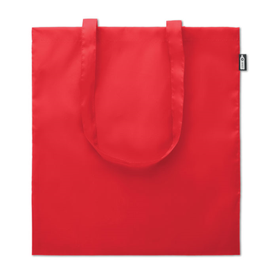 Picture of SHOPPER TOTE BAG in 100G RPET in Red