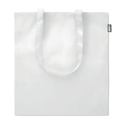 Picture of SHOPPER TOTE BAG in 100G RPET in White