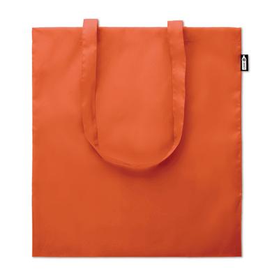 Picture of SHOPPER TOTE BAG in 100G RPET in Orange