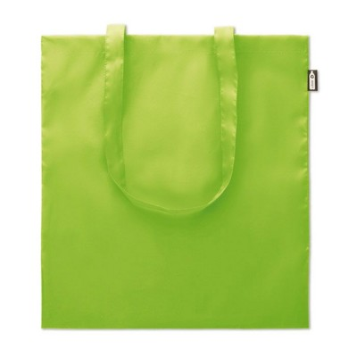 Picture of SHOPPER TOTE BAG in 100G RPET in Lime