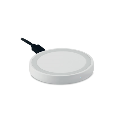 Picture of SMALL CORDLESS CHARGER in White