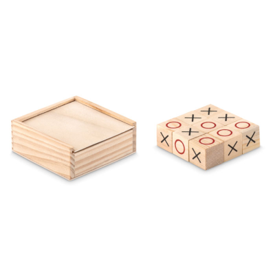 Picture of WOOD TIC TAC TOE