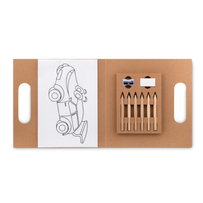 Picture of COLOURING SET with 6 Pencil Set