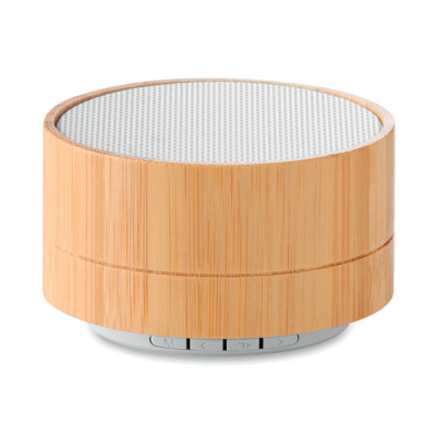 Picture of 3W BAMBOO CORDLESS SPEAKER