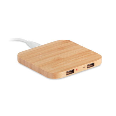 Picture of BAMBOO CORDLESS CHARGER PAD