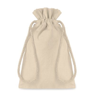 Picture of SMALL COTTON DRAW CORD BAG