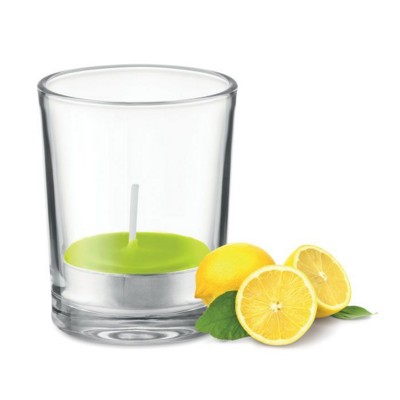 Picture of CLEAR TRANSPARENT GLASS HOLDER CANDLE
