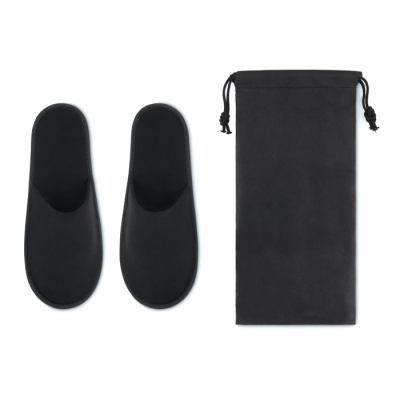 Picture of PAIR OF SLIPPERS in Pouch