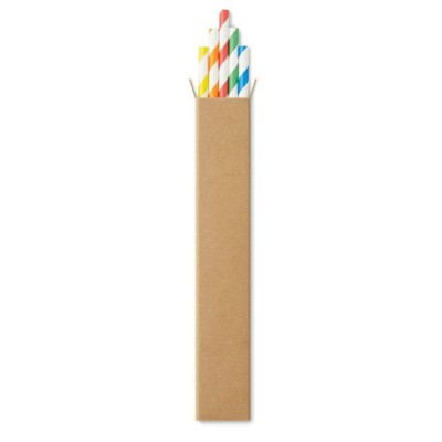 Picture of 10 PAPER STRAWS in Kraft Box