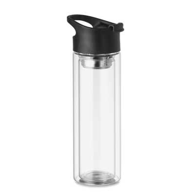 Picture of DOUBLE WALL GLASS BOTTLE 380ML