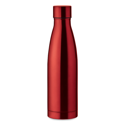 Picture of DOUBLE WALL BOTTLE 500ML in Red