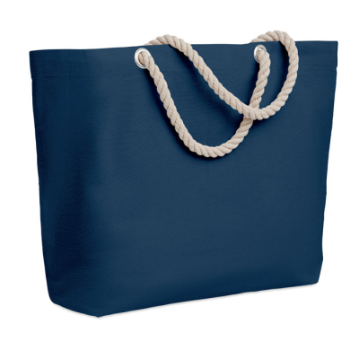 Picture of BEACH BAG with Cord Handle in Blue