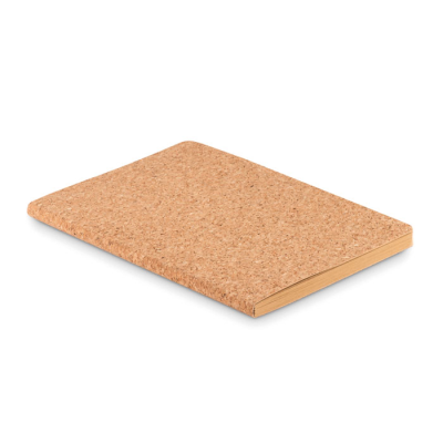 Picture of A5 CORK SOFT COVER NOTE BOOK