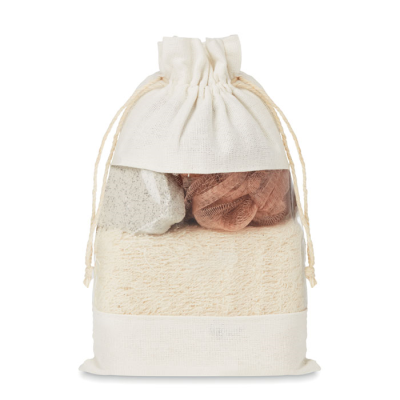 Picture of BATH SET in Cotton Pouch
